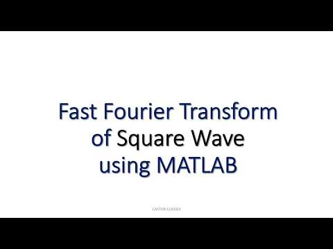 MATLAB Program for Fast Fourier Transform of Square Wave m file