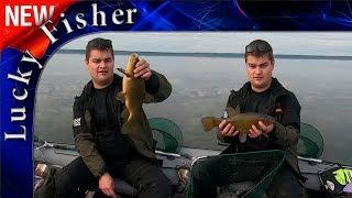 Ловля ЛИНЯ и ЛЕЩА с лодки. Бешеный клев рыбы!!!