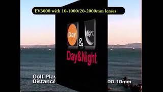 Border and Harbor Camera 20km range PTZ IR Thermal Day night Dark Fog