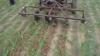 खरपतवार हटाने की मशीन (बाइक से खेती की जुगाड़ )
