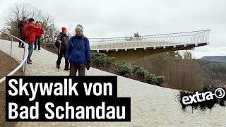 Realer Irrsinn: Der Skywalk von Bad Schandau | extra 3 | NDR