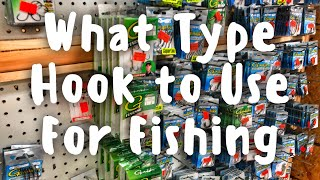 Bass Fishing Hook Types and What They are Used For