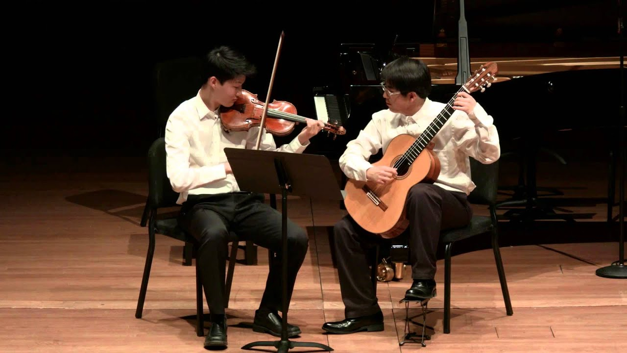 Paganini: Sonata Concertata in A major for Violin and Guitar, Op. 61