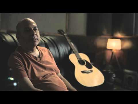 Sanjay Divecha on the D'Alberto palour acoustic guitar
