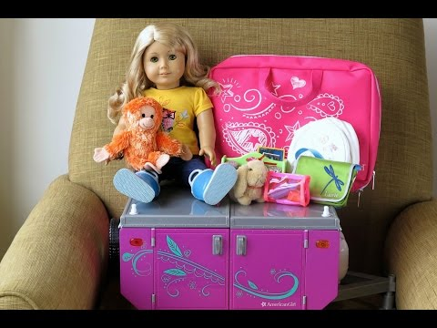 How To Travel With Your American Girl Doll ~ Two Night Hotel Vacation Stay ~