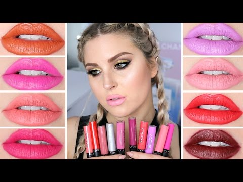 Ofra Long Lasting Liquid Lipstick ♡ Lip Swatch & Review!