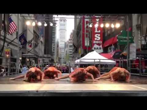 Topcat Seniors 2013 @ Project Dance NY in Times Square