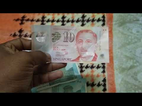 Singapore Dollars Vs Indian Rupees Quality Of Currency Paper
