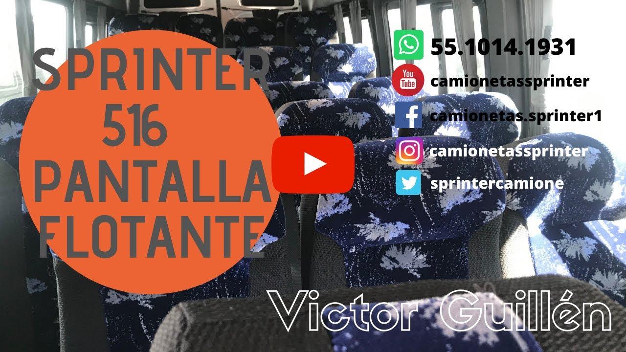 SPRINTER 516 XL PANTALLA FLOTANTE