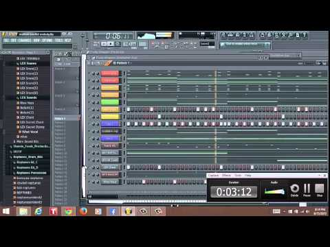 how to create faded in fl studio