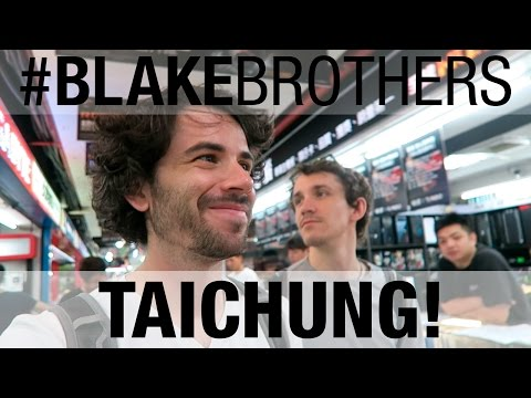 Taichung: From Miyahara 宮原眼科 to Fengjia 逢甲夜市  // #BLAKEbrothers in Taiwan Ep.3