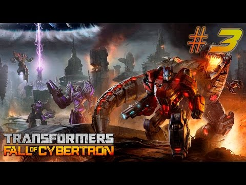 Transformers Fall of Cybertron [Walkthrough] PART 3