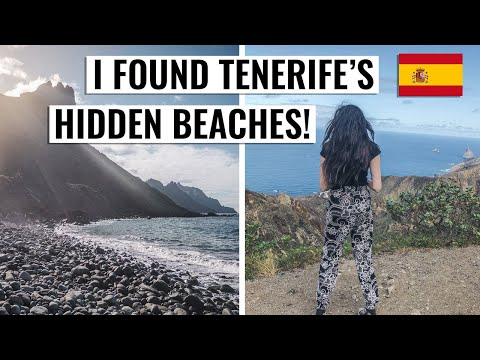 Journey To Taganana's Hidden Beaches In Anaga, Tenerife | Cinematic 4K Travel Vlog