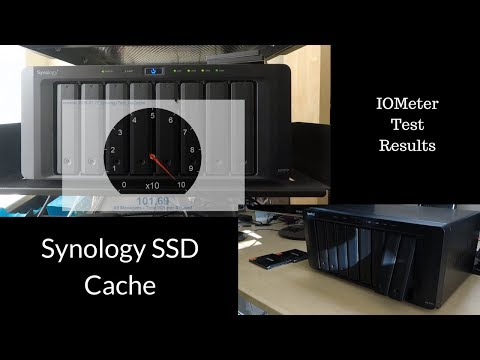 Synology SSD Cache Setup and Testing