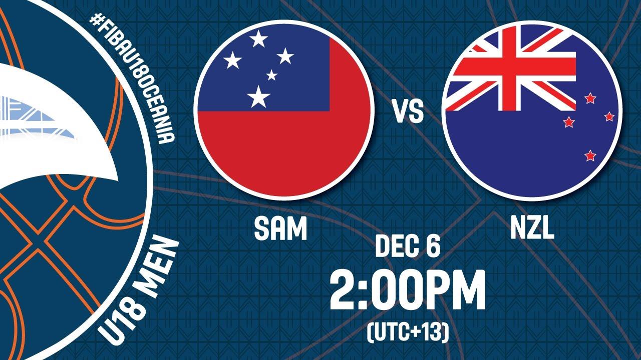 Samoa v New Zealand - Full Game - FIBA U18 Oceania Championship 2016
