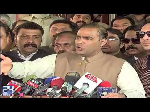 Abid Sher Ali lashes out at Imran Khan MP