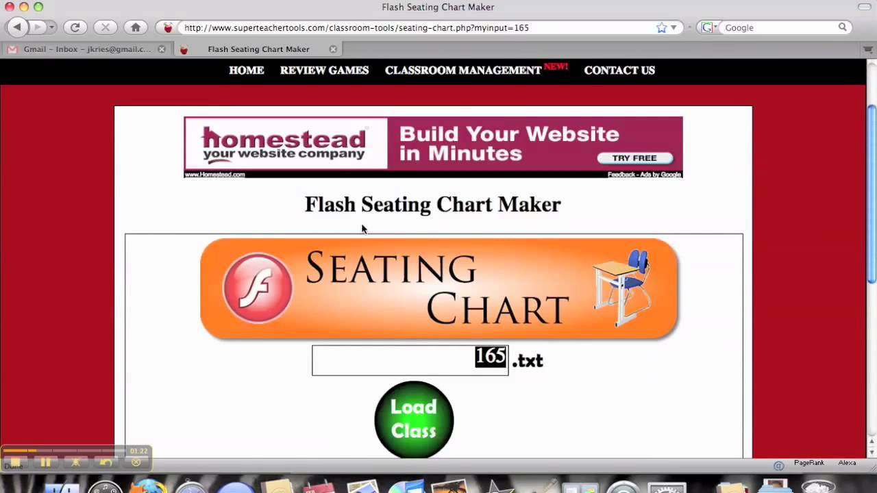 seating chart maker youtube