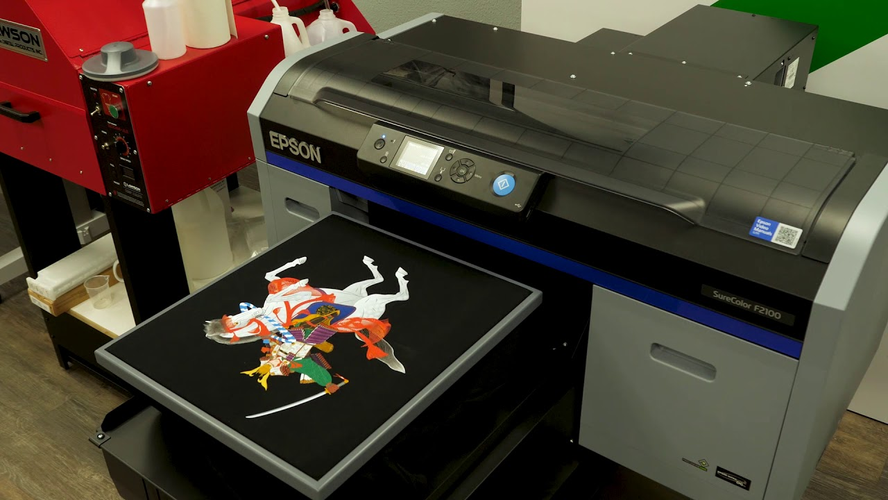 Epson F2100 DTG High Quality Direct to Garment Printer - Imaging