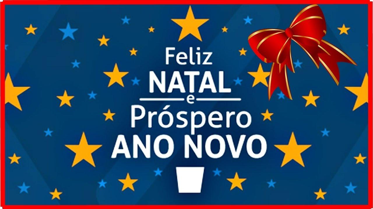 Mensagem Defeliz Natal Um Próspero Ano Novo