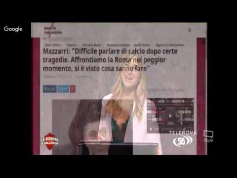 La Signora in Giallorosso – Puntata del 08/03/2018