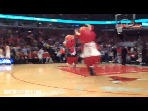 Benny the Bull Gets Pancaked