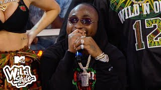 DC Young Fly & Davido Throw Hella Shots For The Win 😂Wild 'N Out | #Wildstyle