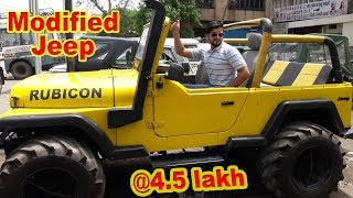 Jeeps Market Custom Modified Jeep Rs250000- Thar, Gypsy, Ambassador In Cheap Price.. awe ...