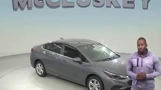 182519 New 2018 Chevrolet Cruze LT FWD 4D Sedan Gray Test Drive, Review, For Sale -