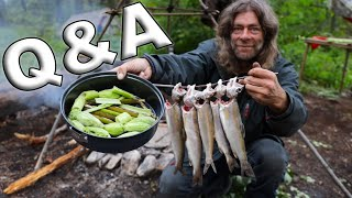 Live For The First Time ON My Channel, Greg & Fowler 30 Day Survival Challenge Canadian Rockies