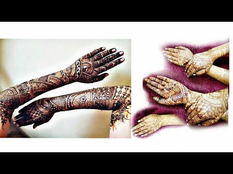 New Bridal Henna Design For Backside Part 2 2018 Heena Vahid By