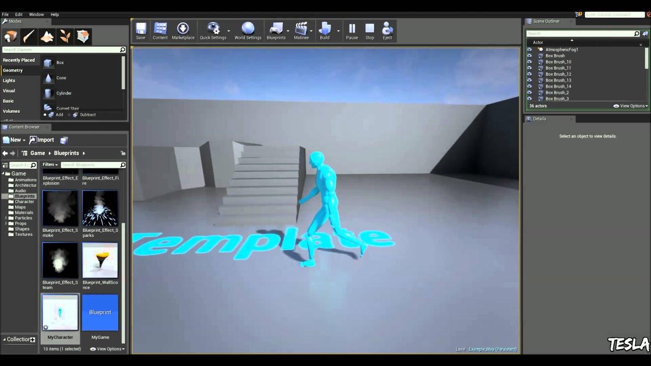 Unreal engine 4 tutorial blend walkrun thirdpersontemplate unreal engine 4 tutorial blend walkrun thirdpersontemplate youtube malvernweather Images