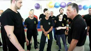 KRAV MAGA MAOR SELF DEFENSE USE HAND SHOCK