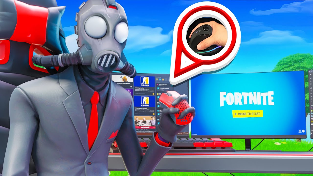 Playing Arena In Fortnite With A Vertical Mouse... (THIS WAS A MISTAKE!)