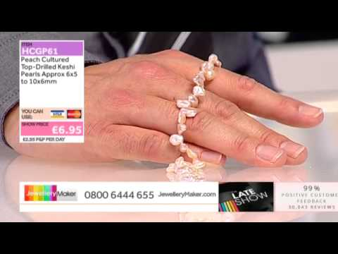 Garnet on The Late Show with Ed McKay JewelleryMaker LIVE 29/09/2014