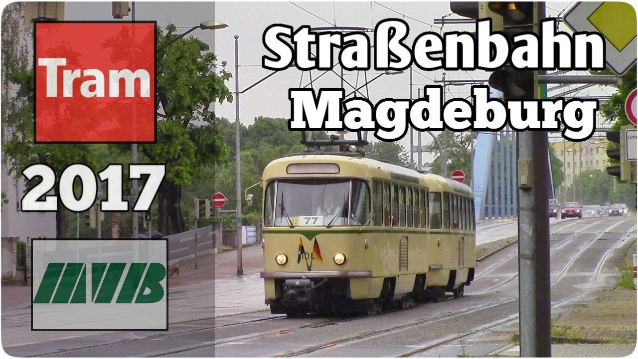 stra enbahn magdeburg sonderfahrten zum europafest 2017 tram magdeburg youtube. Black Bedroom Furniture Sets. Home Design Ideas