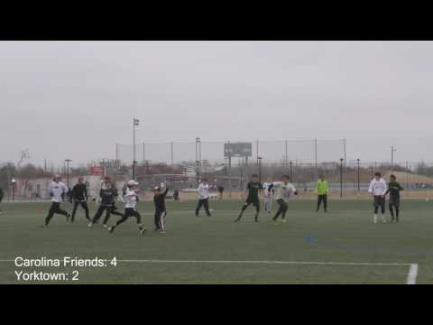 Carolina Friends School vs Yorktown | Boy's Semifinals at 2017 YULA Invite