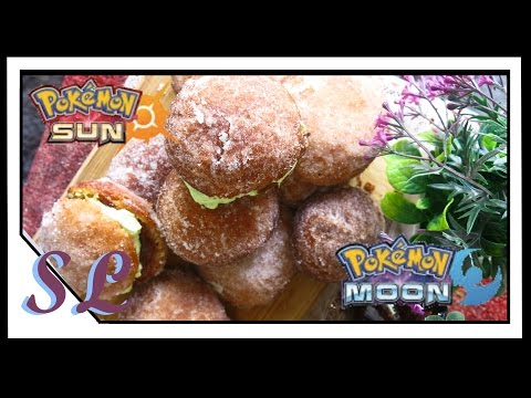ALOLAN MALASADAS - POKEMON SUN & MOON Inspired Recipe