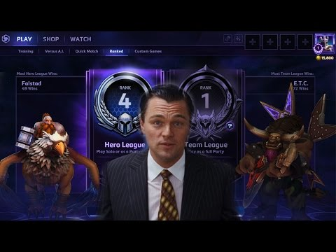 видео: [heroes of the storm] Калибровка. 50ый ранг.