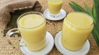 SỮA ĐẬU XANH LÁ DỨA  Kinh Nghiệm Làm Sữa Đậu Xanh Để Bán - Món Ngon Mẹ Nấu