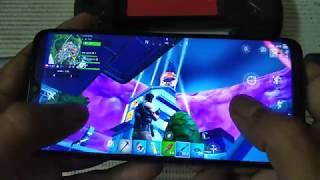 Playing Fortnite on Redmi 7 and Red...