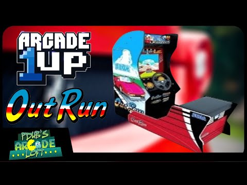 Arcade1Up OutRun Racing Cabinet Coming Very Soon! from PDubs Arcade Loft