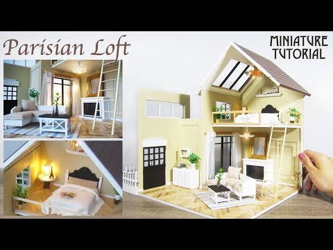 DIY Miniature -  Paris Loft