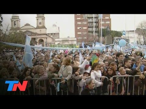 Marcha en apoyo a María Eugenia Vidal