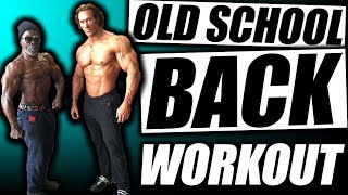 Old School Back Workout   The Black Prince & The Titan