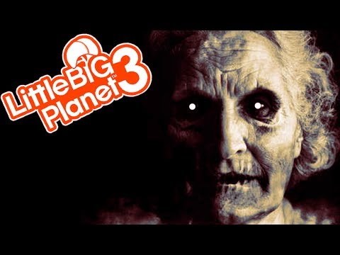 WADE'S GRANDMA! | Little Big Planet 3 Multiplayer (103)
