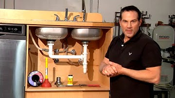 How to Repair a Leak Under the Sink : Home Sweet Home Repair