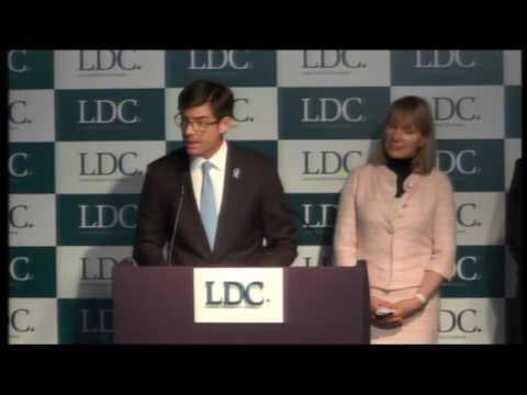 Discursos de Gonzalo Ramírez Martiarena y Margarita Louis-Dreyfus