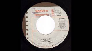 "Stevie Nicks   ""Stand Back"" extended LP mix / re-work"