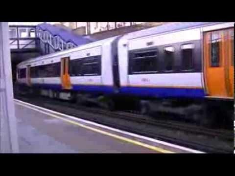 KILBURN HIGH ROAD TRAIN STATION LONDON
