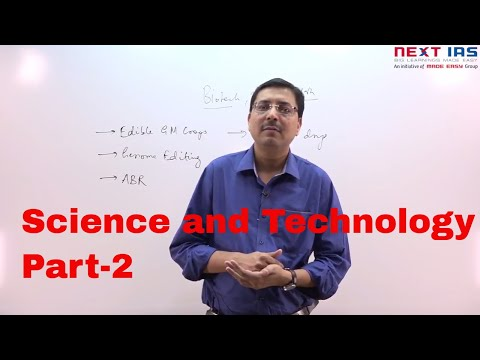Current Issues Series | Science and Technology for UPSC MAINS 2017 (Part-2)